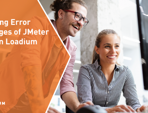 Handling Error Messages of JMeter Tests in Loadium